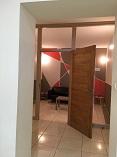 la salle d'attente du cabinet